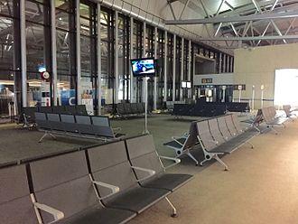 La Aurora International Airport - Waiting room at the airport.