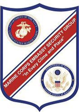 Marine Security Guard - Image: MSG Shield (1)