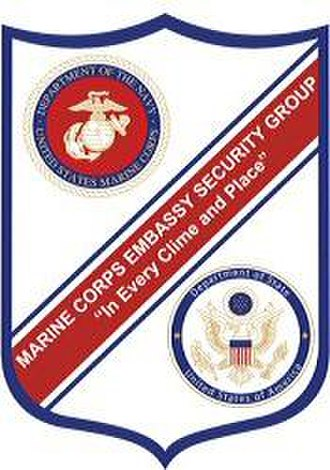 Marine Security Guard - Image: MSG Shield (1)