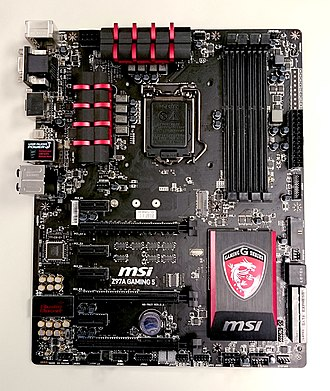 Micro-Star International - Image: MSI Z97A GAMING 5