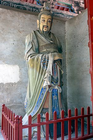 Ma Liang (Three Kingdoms) - Statue of Ma Liang in the Emperor Guan Temple in Xuchang, Henan