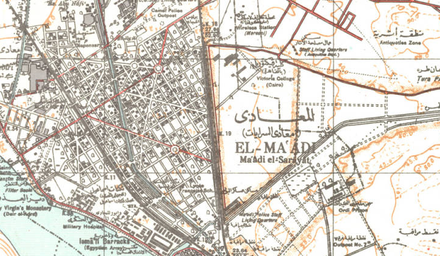 Maadi Wikiwand - Map of zeitoun egypt