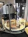 Machine à couper le fromage, Orgelet, Jura, France - 2.JPG
