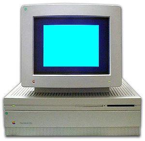 Macintosh IIfx - A Macintosh IIfx