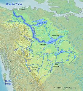 Cuenca del R�o Mackenzie