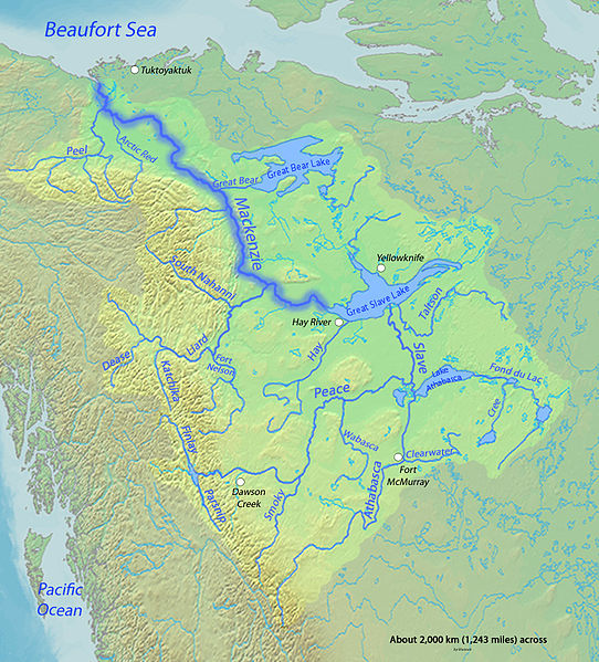 MacKenzie River watershed