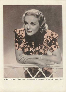 Madeleine Carroll in 1939
