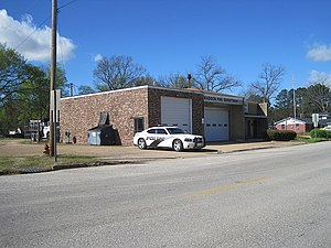 Madison, Arkansas - Madison police and fire departments on duty