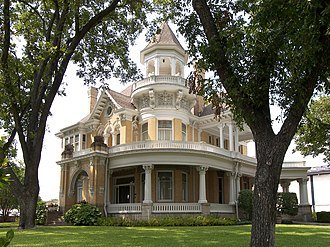 National Register of Historic Places listings in McLennan County, Texas - Image: Madison cooper house 2008