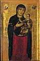 Madonna stante col bambino t due angeli, 1240-50, Peccioli, Prepositura di San Verano.jpg