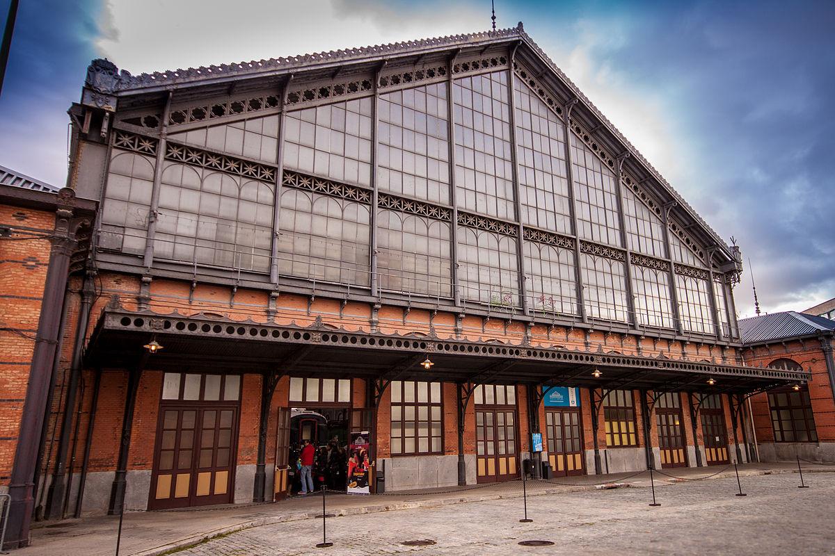Museo del ferrocarril de madrid wikipedia la for Pisos en delicias madrid