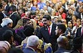 Maduro at second inauguration with people Jan 2019.jpg