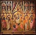 Maestro di montefloscoli, madonna della cintola e santi, 1445-50 ca. (vicchio, museo beato angelico) 01.jpg
