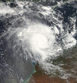 Cyclone Magda Category 3 Australian region cyclone in 2010