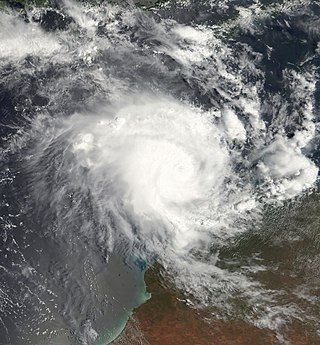 Cyclone Magda Category 3 Australian region cyclone in 2010