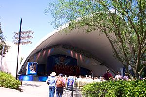 Magic Music Days - Located on the west side of Epcot, this stage is used primarily by vocal and instrumental groups participating in the Disney's Magic Music Days program.