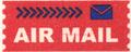 Mail label of Nippon Yū-sei Kabushiki-gaisha - Air Mail.png