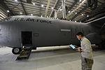 Maintainers keep C-130J Super Hercules flying in Afghanistan 141103-F-LX971-013.jpg