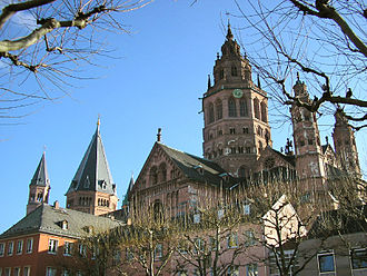 Mainz Cathedral - Image: Mainzer Dom nw