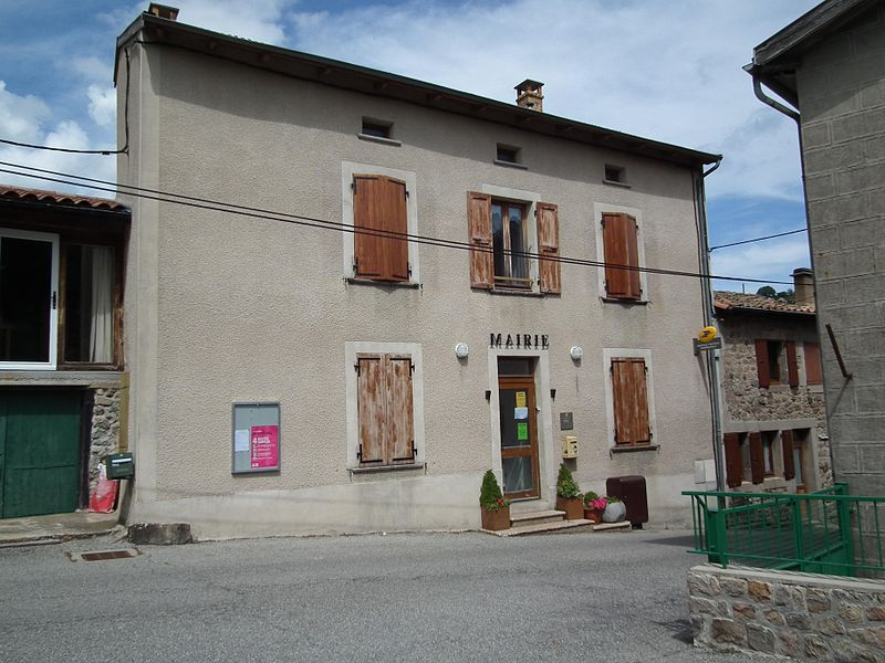 Town hall of Saint-Prix - Ardèche - France
