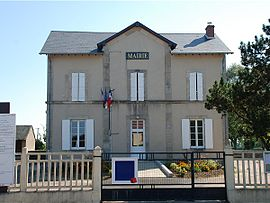 The town hall in La Collancelle