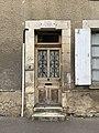 Maison natale de Jean Bertin, porte d'entrée (juin 2019).jpg