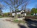 Malá Chuchle, trať 171, Zbraslavská 4, zarážedlo.jpg