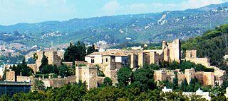 Alcazaba of Málaga palatial fortification in Málaga
