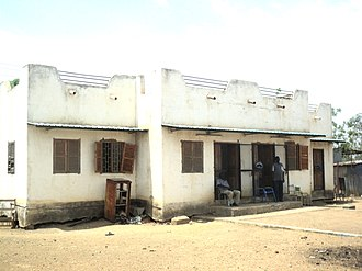 Malakal - Post office of Malakal, South Sudan in 2011