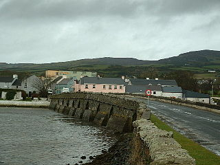 Malin, County Donegal Village in Ulster, Ireland