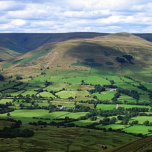 Bocage - English bocage (Edale valley, Peak District)