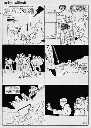 Ensign Bafflestir - Image: Man Overboard