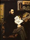 Manet, Edouard - Portrait of Emile Zola