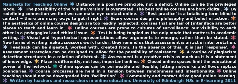 ManifestoforTeachingOnline