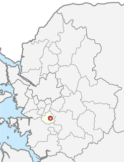 Location of Suwon