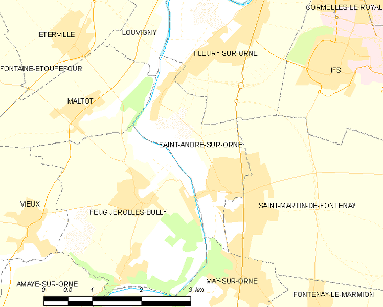 Súbor:Map commune FR insee code 14556.png