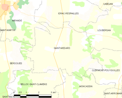 Map commune FR insee code 32394.png