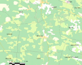 Map commune FR insee code 40056.png