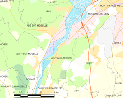 Map commune FR insee code 57350.png