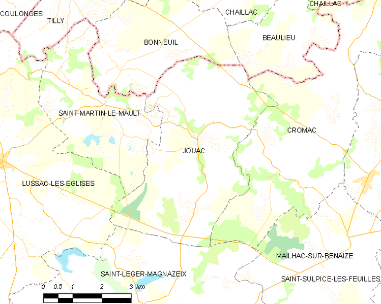Fayl:Map commune FR insee code 87080.png