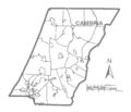 Map of Cambria County, Pennsylvania No Text.png
