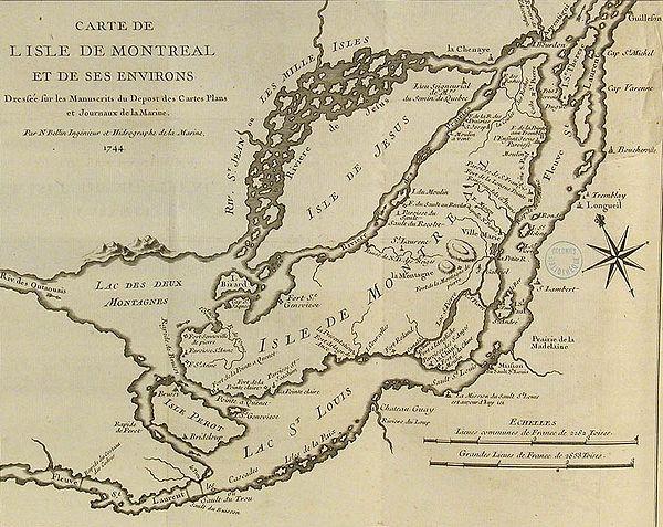 1744 in Canada