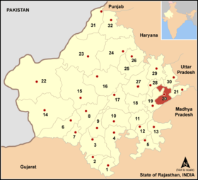 Localisation de District de Karauli