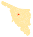 Mapa Municipios Sonora Benjamín Hill.png