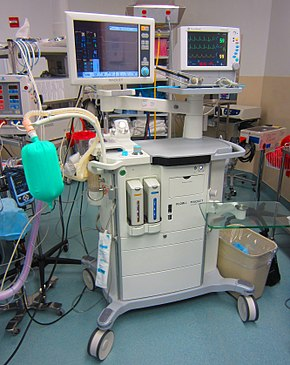 Maquet Flow-I anesthesia machine.jpg