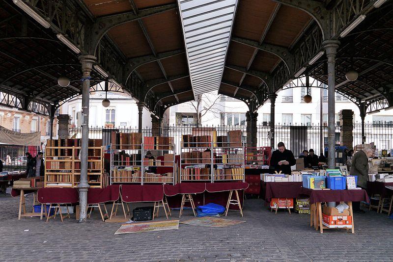 File:Marché du livre ancien et d'occasion, Paris March 2013.jpg