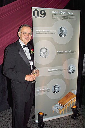 Marcian Hoff - Ted Hoff at the Computer History Museum's 2009 Fellows Award event
