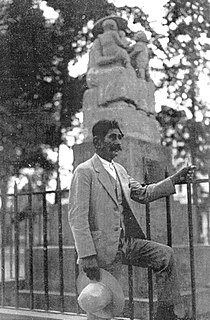 Mardonio Magaña Mexican educator and sculptor known for his folk art.