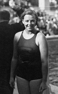 Marie Braun Dutch swimmer