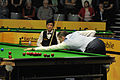 Mark Selby and Thepchaiya Un-Nooh at Snooker German Masters (DerHexer) 2013-01-30 01.jpg